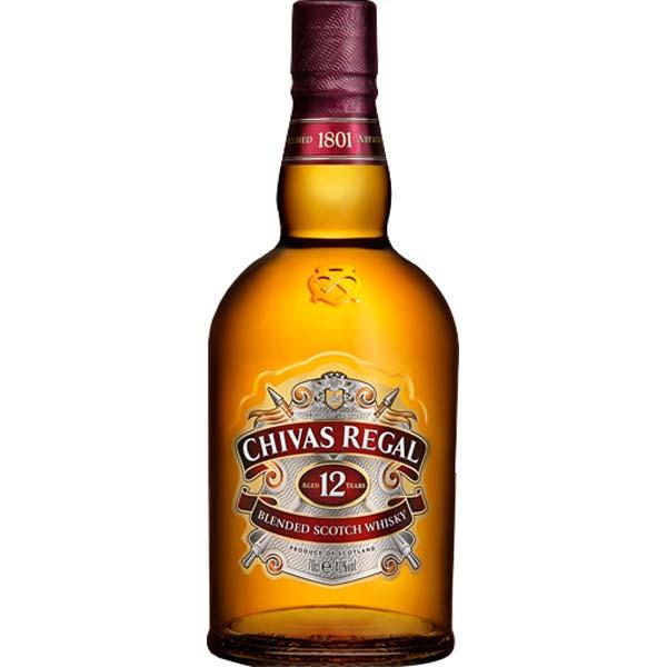 WHISKY CHIVAS REGAL 12 ANOS 1 L