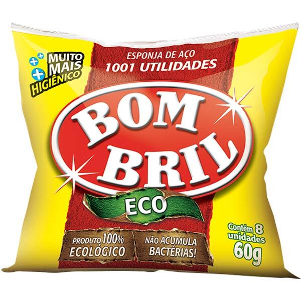 LÃ DE AÇO BOMBRIL PACOTE COM14X60 G