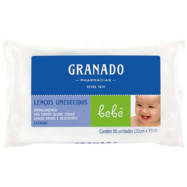 TOALHA UMEDECIDA GRANADO BEBE 50 UN LAVANDA