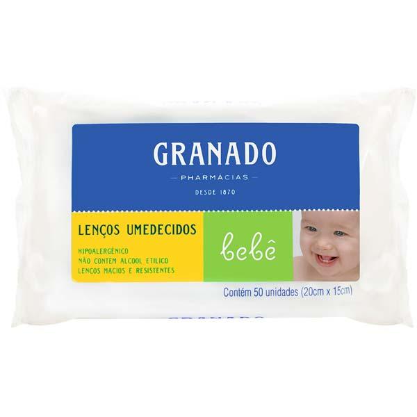 TOALHA UMEDECIDA GRANADO BEBE 50 UN BEBE
