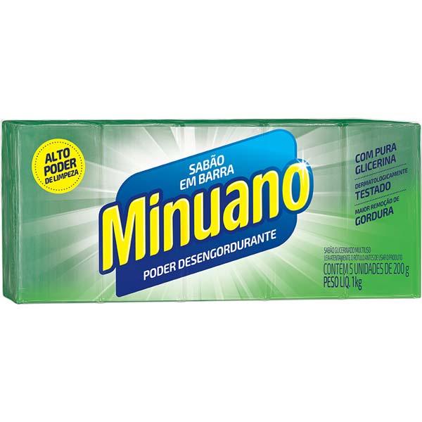 SABÃO MINUANO 20X5X200 G VERDE