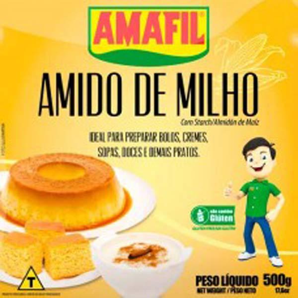 AMIDO DE MILHO AMAFIL 500 G