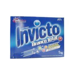DETERGENTE EM PÓ INVICTO 1 KG BRANCO TOTAL