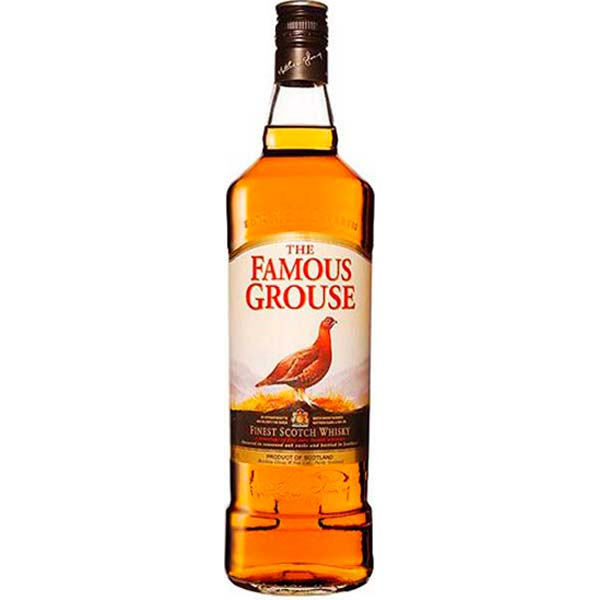 WHISKY FAMOUS GROUSE 750 ML