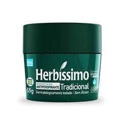 DESODORANTE CREME HERBISSIMO 55 G TRADICIONAL