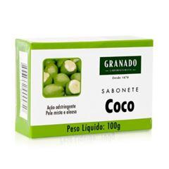 SABONETE GRANADO 100G TRATAMENTO DE COCO